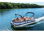 Shown with Optional Double Bimini