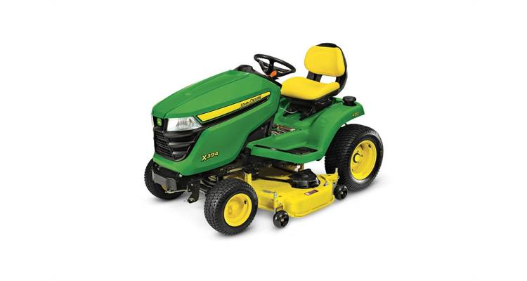 John Deere X300 Series Mower