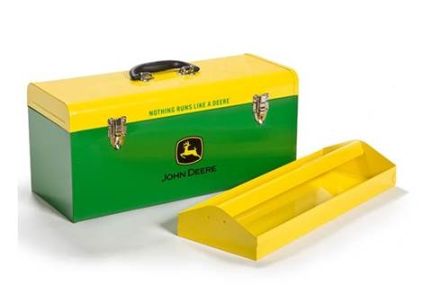 2018 HR-20HB-2 20-in. Hand-Carry Toolbox Green with Yellow Lid