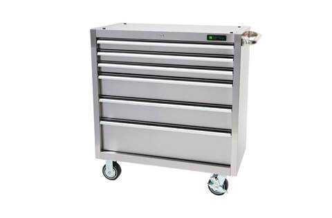 2018 AC-3618CB-SS 36-in., 6-Drawer, stainless steel tool cabinet