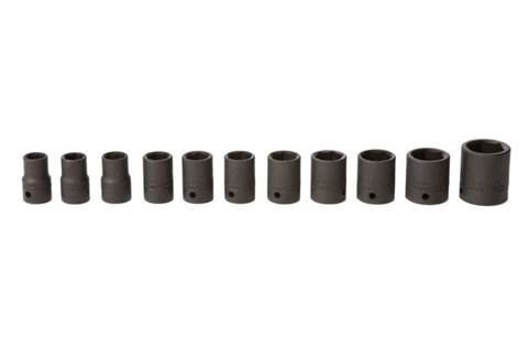 2018 TY24218 11-piece 1/2-in. Drive Metric Impact Socket Set