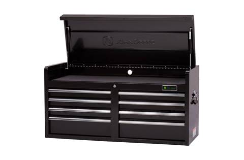 2018 AC-4618CH-B 46-in., 8-Drawer Ball Bearing Chest, Black