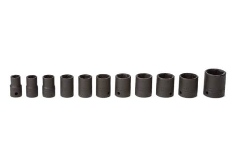 2018 TY24217 11-piece 1/2-in. Drive SAE Impact Socket Set