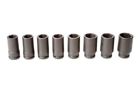 2018 TY27270 8-piece 3/4-in. Drive Metric Deep Impact Socket Set