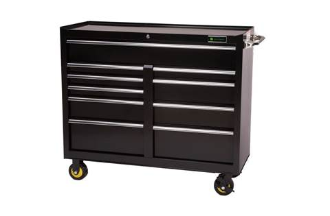 2018 AC-4618CB-B 46-in., 10-Drawer Ball Bearing Cabinet, Black