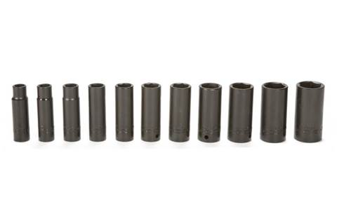 2018 TY24363 11-piece 1/2-in. Drive SAE Deep Impact Socket Set