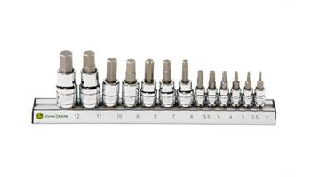 2018 TY26848 13-piece Metric Hex Bit Sockets