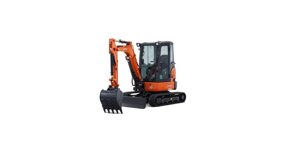 Kubota U Series Excavators