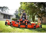 "Optional 100"" Flex Deck Mower"