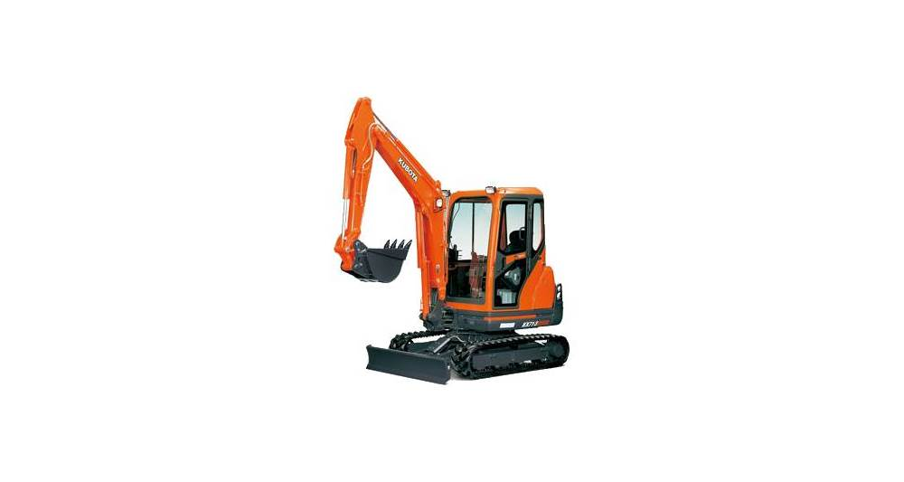 Kubota KX Series Excavators