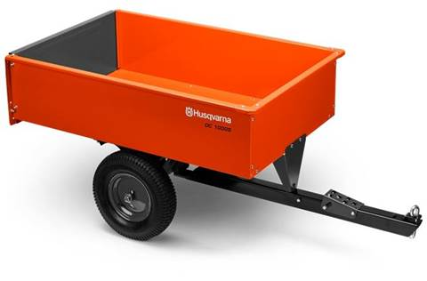 2018 12' Steel Swivel Dump Cart