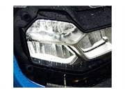 Stock Image: LED headlight