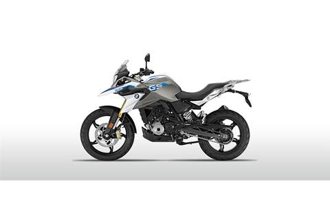 2019 G 310 GS - Pearl White Metallic
