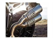 Stock Image: Elevated exhaust system