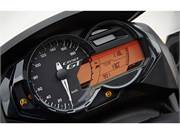 Stock Image: High-quality instrument cluster