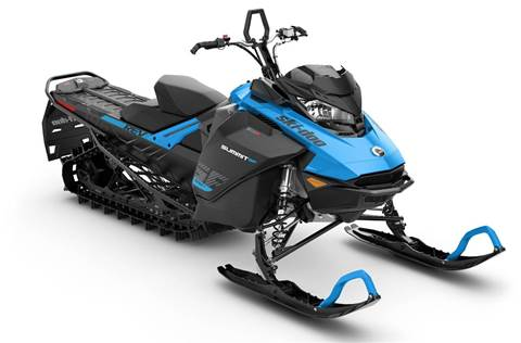 2019 Summit SP 600R E-TEC SHOT 146 Octane Blue & Black