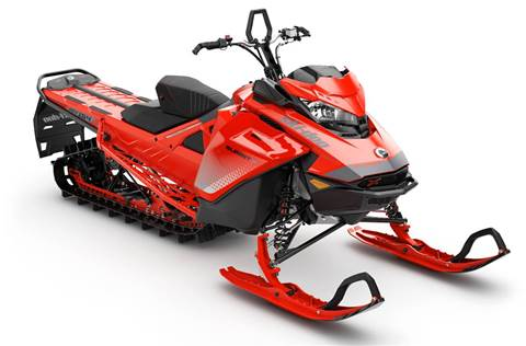 2019 Summit X 850 E-TEC 154 Ultimate Lava Red