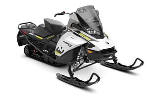 MXZ TNT 600R E-TEC White & Black