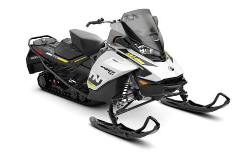 2019 MXZ TNT 600R E-TEC White & Black
