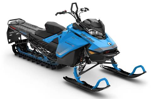 2019 Summit X 850 E-TEC 165 Octane Blue & Black