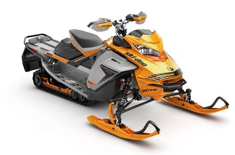 2019 Renegade X-RS 850 E-TEC Orange Crush & Silver