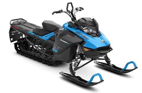 2019 Summit SP 600R E-TEC SHOT 154 Octane Blue & Black
