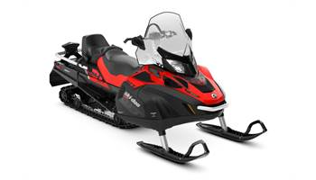 2019 Skandic WT 550F Viper Red & Black