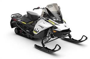 MXZ TNT 850 E-TEC White & Black