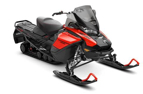 2019 Renegade Enduro 600R E-TEC Lava Red & Black