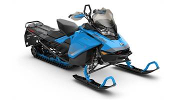 2019 Backcountry X 850 E-TEC ES Octane Blue & Black