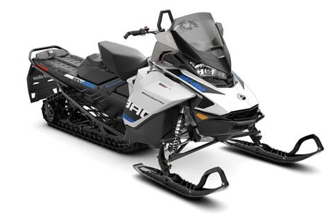 2019 Backcountry 600R E-TEC White & Black
