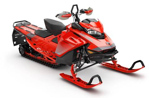 2019 Backcountry X-RS 850 E-TEC SHOT Ultimate Lava Red