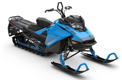 2019 Summit X 850 E-TEC ES 154 Octane Blue & Black