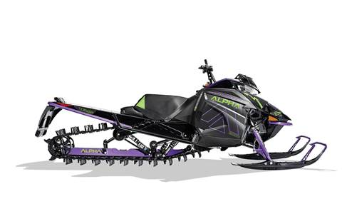 2019 M 8000 Mountain Cat Alpha One (165) Purple