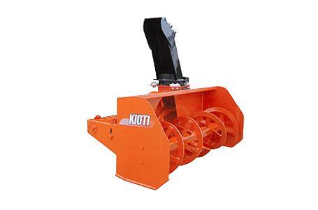 Front mount snowthrower