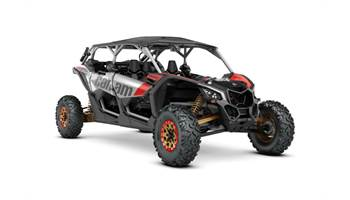 2019 Maverick™ X3 MAX X™ rs Turbo R -Gold, Red & Silver