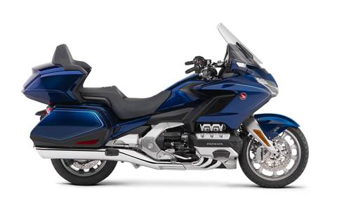 2019 Gold Wing Tour DCT - Pearl Hawkseye Blue