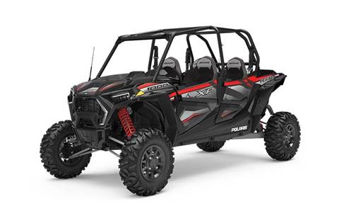 2019 RZR XP® 4 1000 Ride Command - Black Pearl