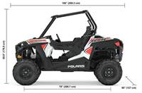 2019 Polaris Industries RZR® 900 - White