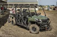 2019 Polaris Industries RANGER CREW® 570-6 - Sage Green