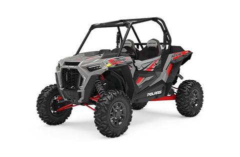 2019 RZR XP® Turbo DYNAMIX Edition - Ghost Gray