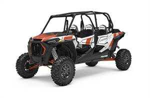 RZR TURBO 4 WHITE PEARL