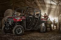 2019 Polaris Industries RANGER CREW® XP 1000 EPS Ride Command® -Sunset Red