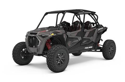 2019 RZR XP® 4 Turbo S - Titanium Metallic