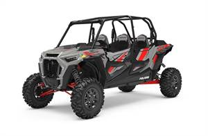 RZR XP® 4 Turbo DYNAMIX - Ghost Gray