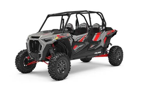 2019 RZR XP® 4 Turbo DYNAMIX - Ghost Gray