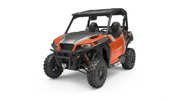 2019 POLARIS GENERAL 1000 Deluxe Orange Rust-DEMO