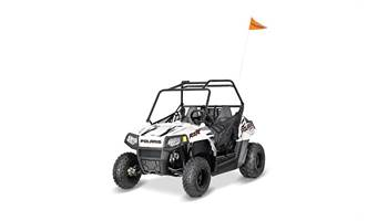2019 RZR 170 EFI, BRIGHT WHITE/INDY RED