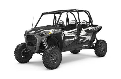 2019 RZR XP® 4 1000 Ride Command - White Pearl