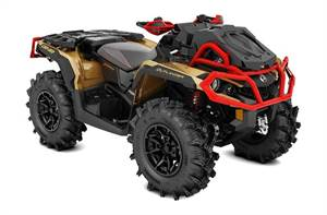 Outlander™ X® mr 1000R - Gold, Black & Can-Am Red